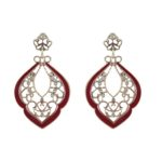 Asia Print Earrings
