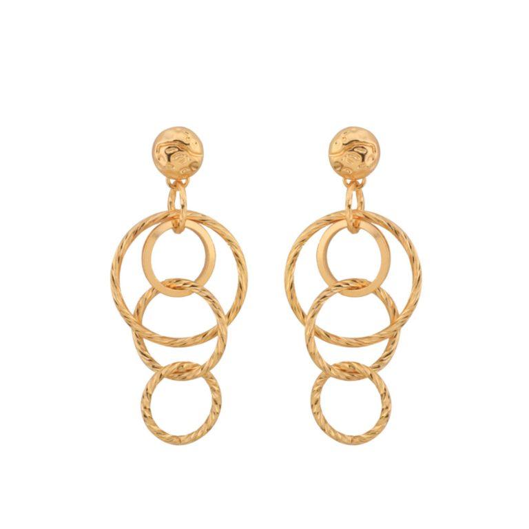 Karma Loop Earrings